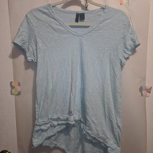 Anthropologie Left of Center Lace Tee